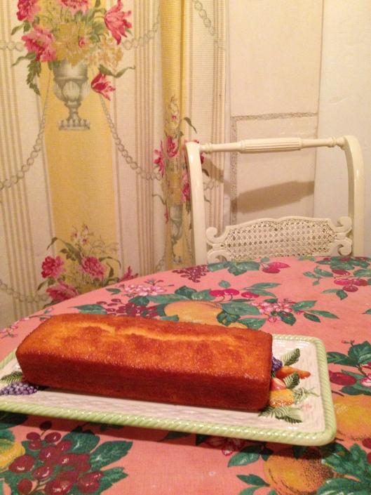 Cake citron fini