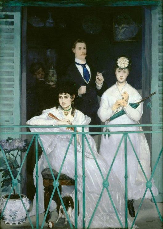 Manet, Le balcon (1868)