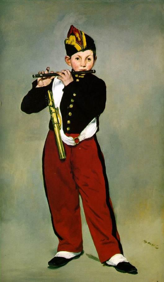Manet, Le fifre (1866)