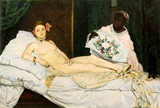 Manet, Olympia (1863)