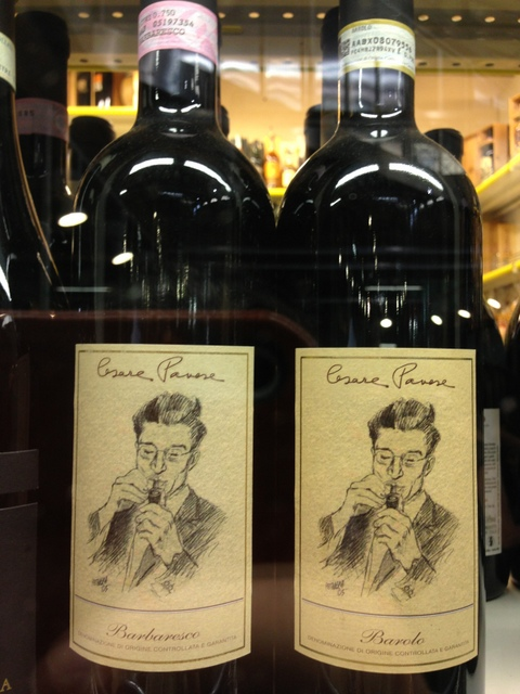 Cesare Pavese se transforme en vin / ©Myriam Thibault