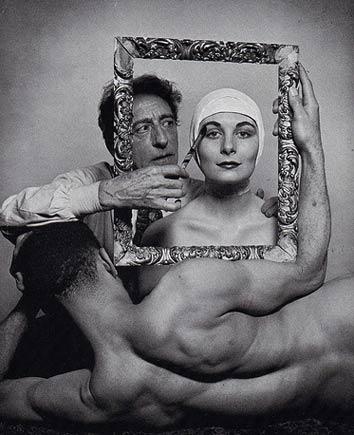 Philippe Halsman Jean Cocteau