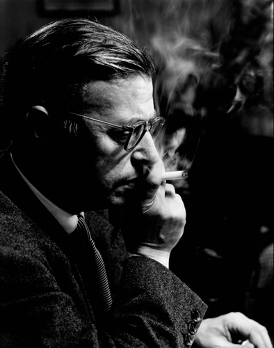 Philippe Halsman Jean Paul Sartre