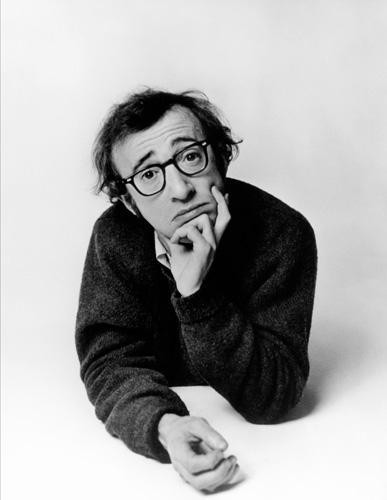 Philippe Halsman Woody Allen