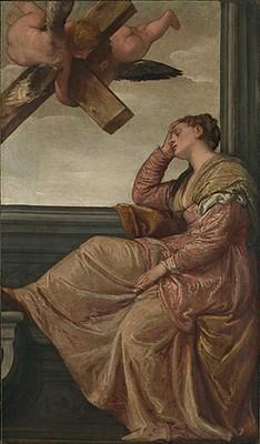 Véronèse La vision de sainte hélène