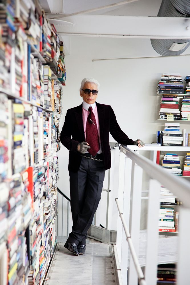 Karl Lagerfeld / ©The Selby