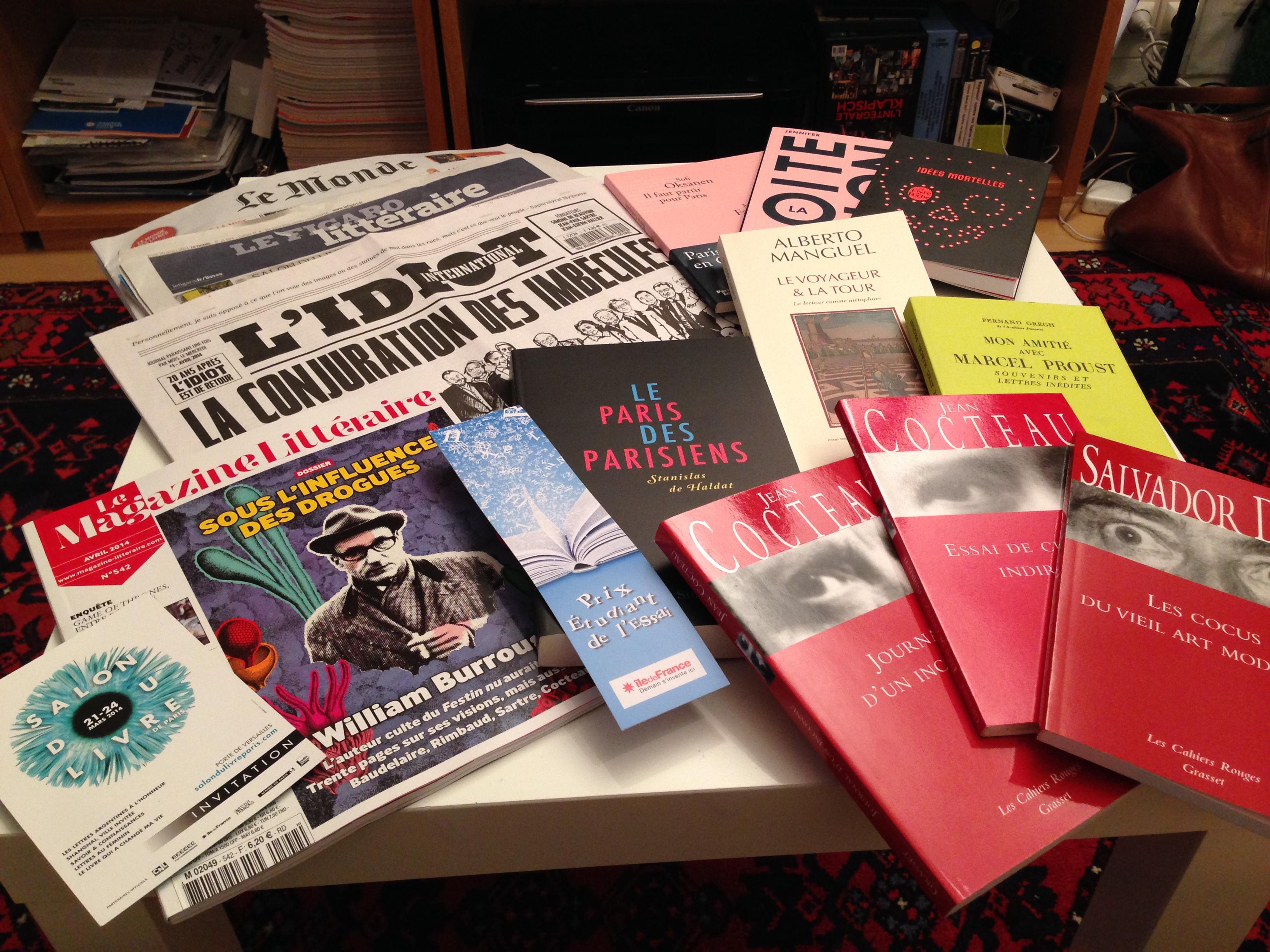 Un week end au salon du livre de paris c est le carnet de myriam thibault - Invitation salon du livre ...