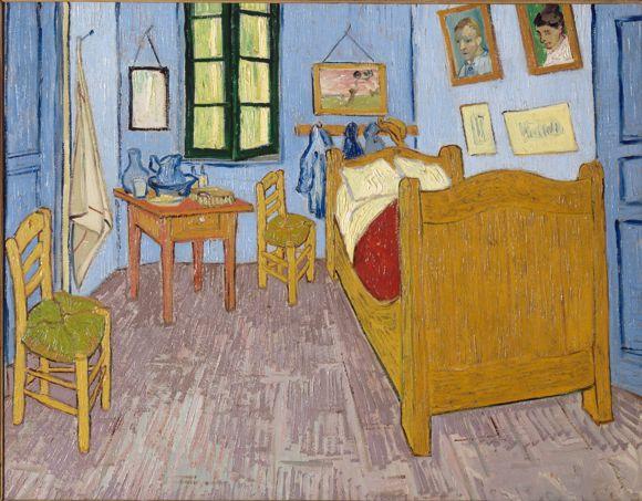 Vincent Van Gogh - La chambre de Van Gogh à Arles