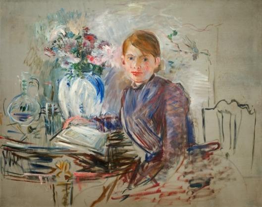 Berthe Morisot Jeune fille à la potiche