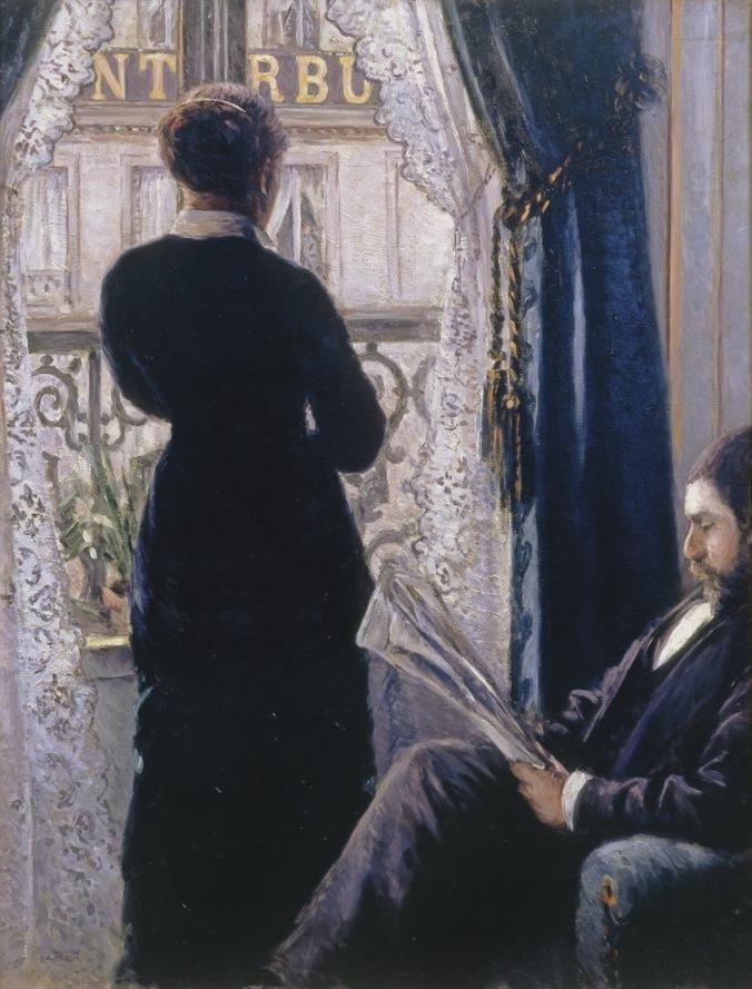 Gustave Caillebotte Intérieur, femme à la fenêtre