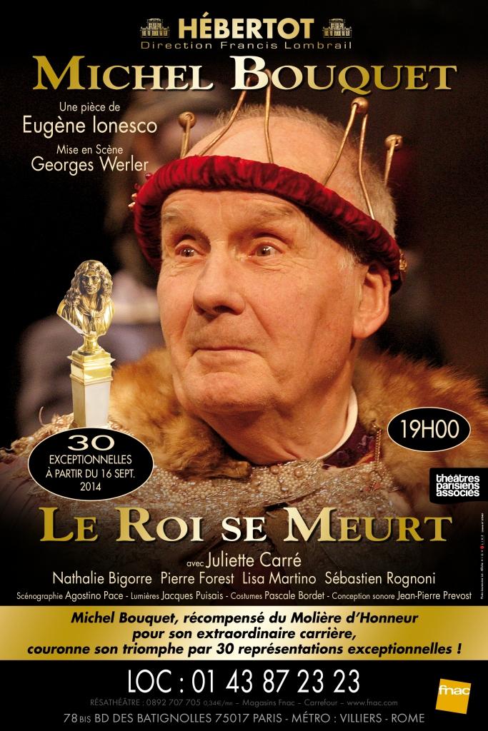 Théâtre Hébertot - Le roi se meurt