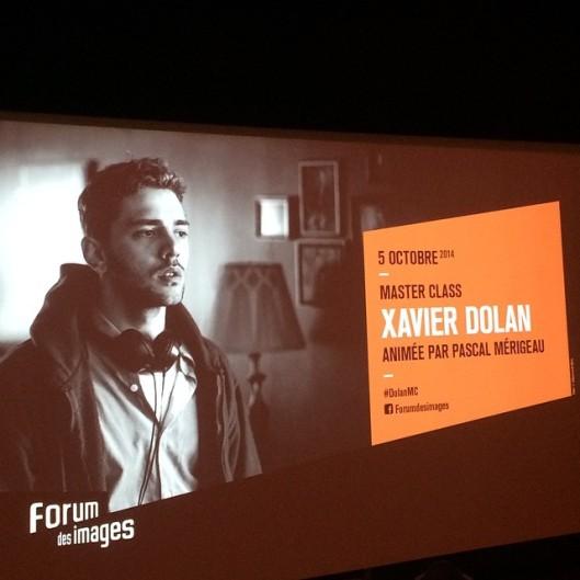 Forum des images - Xavier Dolan