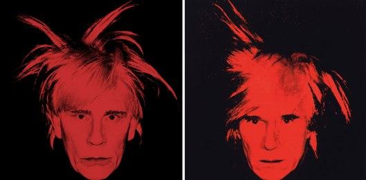 John Malkovich en Andy Warhol