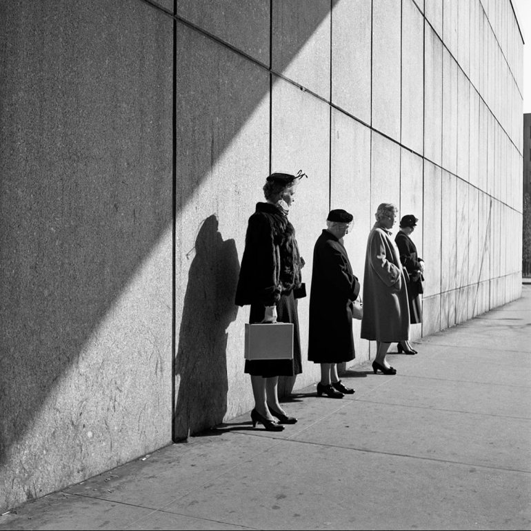 Vivian Maier, October 31, 1954. New York, NY
