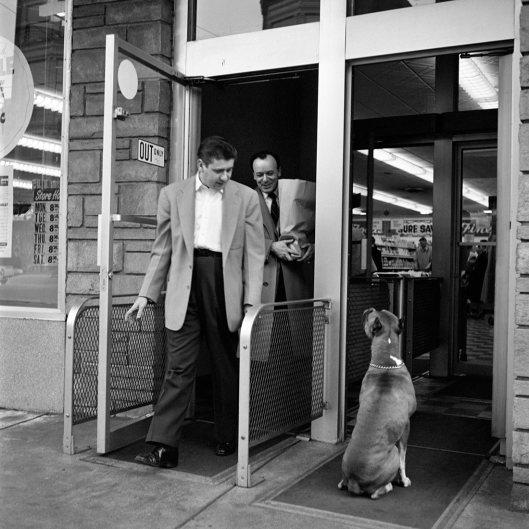 Vivian Maier, April 26, 1956