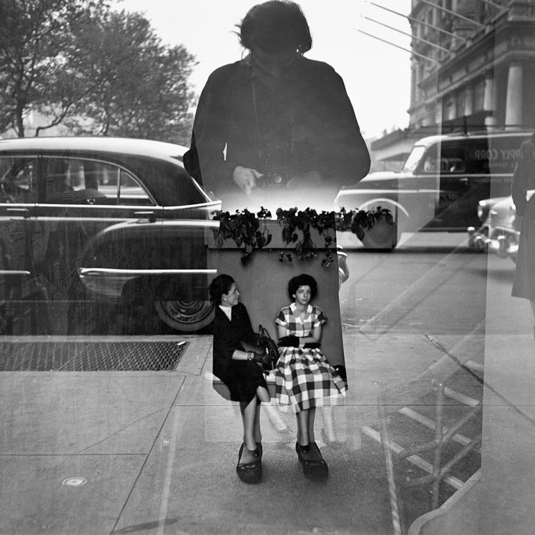 Vivian Maier, Self-portrait 1954