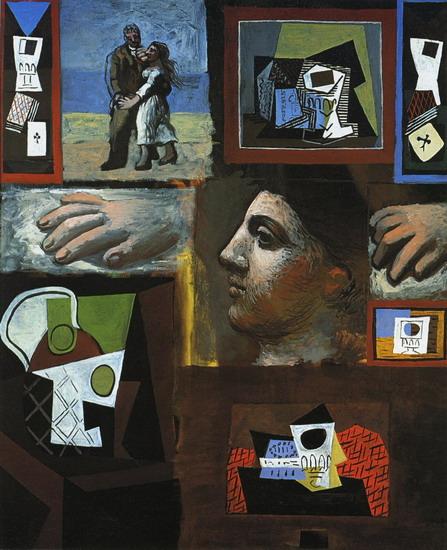 Picasso - Etudes, Paris-Fontainebleau, 1920