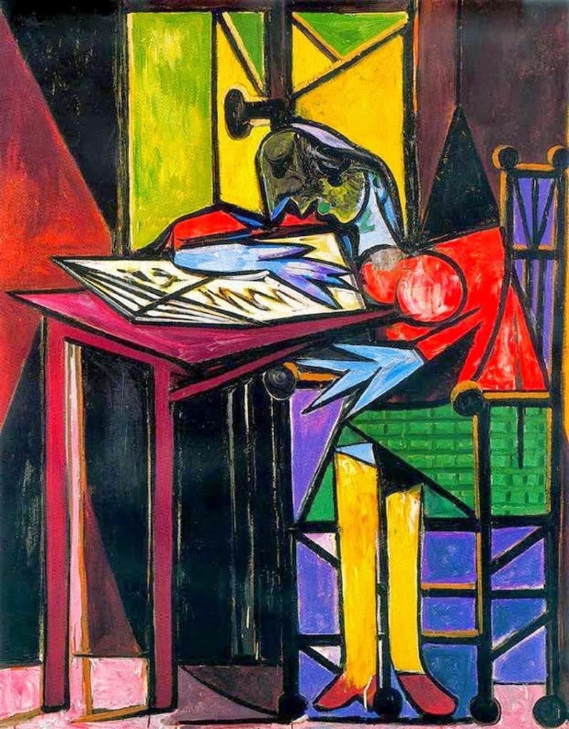 Picasso - Femme lisant, Paris, 9 janvier 1935