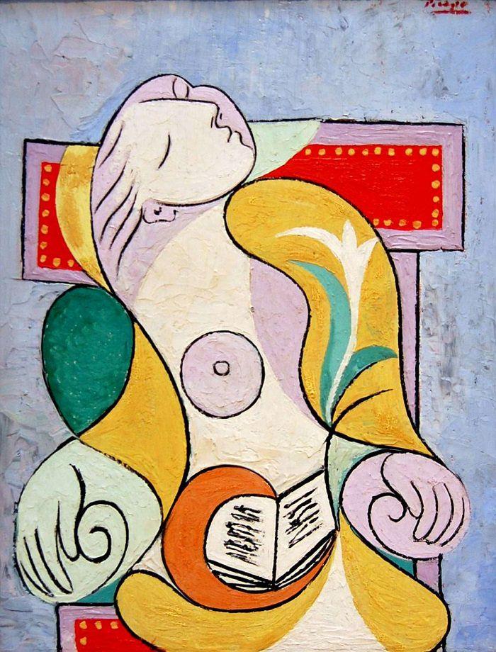 Picasso - La Lecture, Boisgeloup, 2 janvier 1932