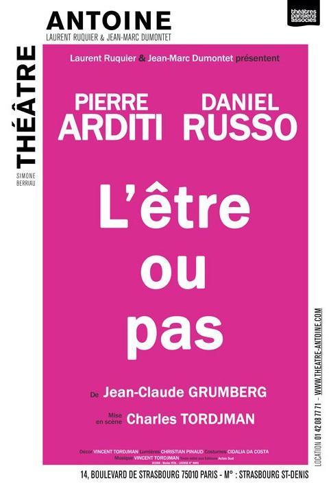 Théâtre Antoine L'être ou pas