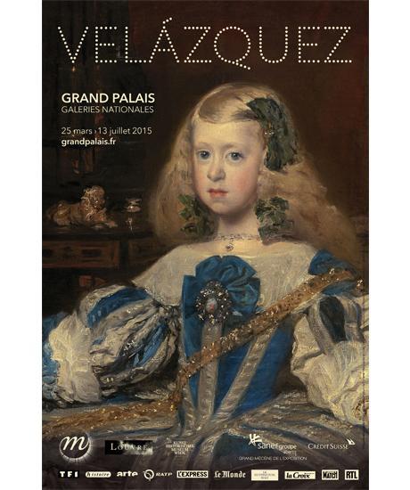Affiche Velazquez grand palais