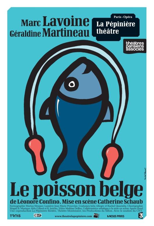 affiche OK Le poisson belge