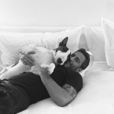 Marc Jacobs et Neville (instagram Neville)