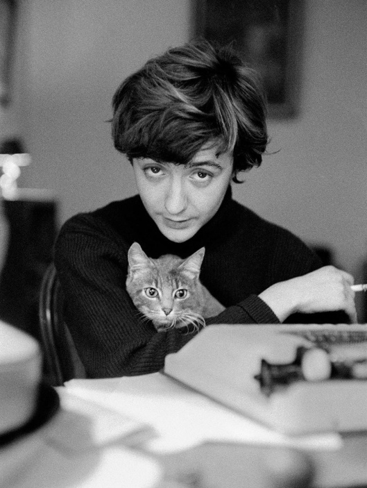 Sagan et son chat