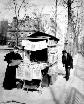 Marchand de journaux d'Eugène Atget