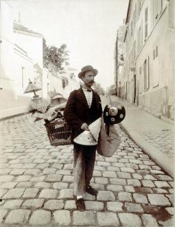 Marchand d'abats-jour d'Eugène Atget