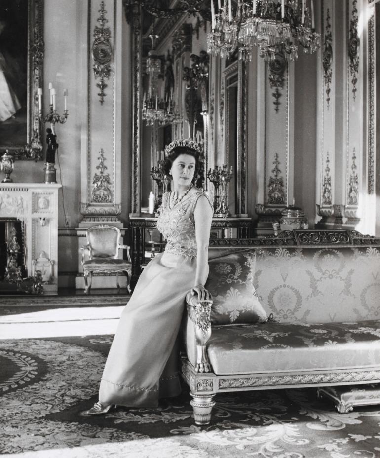 reine d'angleterre Cecil Beaton